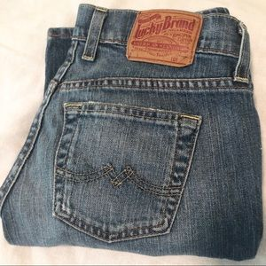 Lucky Brand Dungarees Sweet N' Low Short Size 25